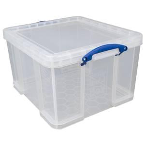 Really Useful Storage Box - Clear - 42L