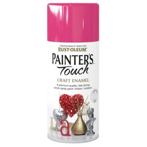 Rust-Oleum Painters Touch - Craft Enamel Spray Paint Blossom Pink - 150ml