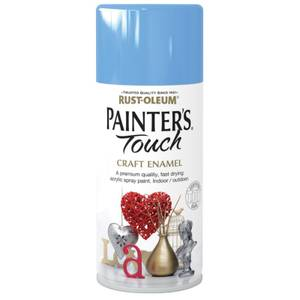 Rust-Oleum Painters Touch - Craft Enamel Spray Paint Tranquil Blue - 150ml