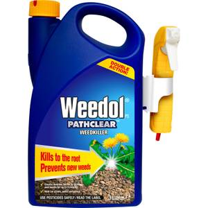 Weedol Gun! Pathclear Ready To Use Weedkiller - 3L