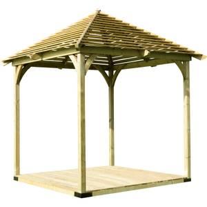 Forest Venetian Garden Pavilion with Deck