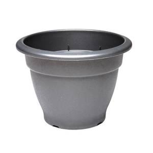 Round Bell Pot in Black - 66cm
