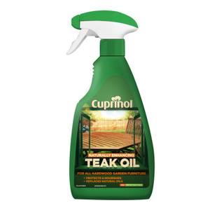 Cuprinol Garden Furniture Teak Oil Trigger - 500ml