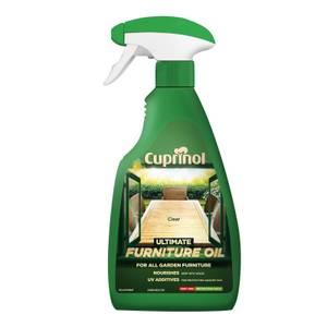 Cuprinol Hardwood Garden Furniture Clear Oil Trigger - 500ml