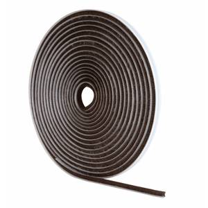 Brush Pile Draught Exclusive Brown - 5m