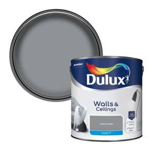 Dulux Matt Natural Slate Matt Emulsion Paint - 2.5L