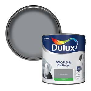 Dulux Silk Natural Slate Silk Emulsion Paint - 2.5L