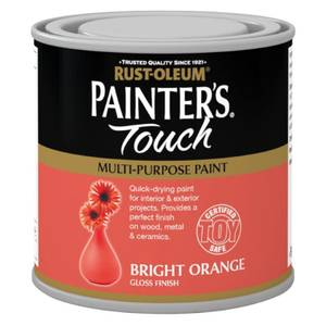 Rust-Oleum Painters Touch Bright Orange Gloss - 250ml