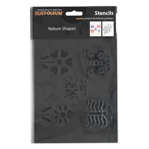 Rust-Oleum Stencil Nature Shapes