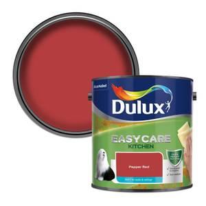 Dulux Easycare Kitchen Matt Pepper Red Matt Emulsion Paint - 2.5L