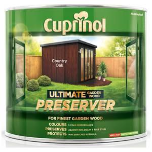 Cuprinol Ultimate Preserver - Country Oak - 1L