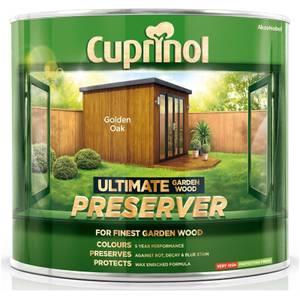 Cuprinol Ultimate Preserver - Golden Oak - 1L