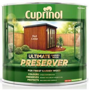 Cuprinol Ultimate Preserver - Red Cedar - 1L