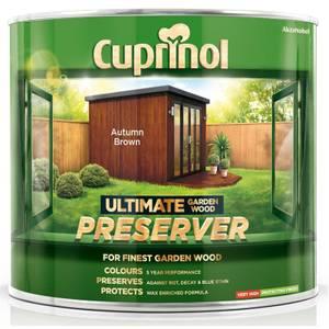 Cuprinol Ultimate Preserver - Autumn Brown - 1L