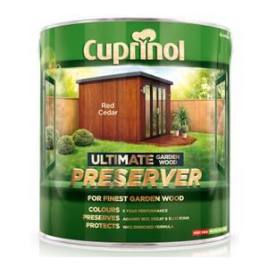 Cuprinol Ultimate Preserver - Red Cedar - 4L