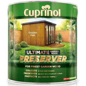 Cuprinol Ultimate Preserver - Golden Oak - 4L