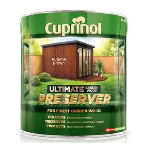 Cuprinol Ultimate Preserver - Autumn Brown - 4L