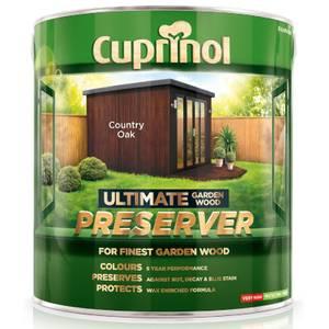 Cuprinol Ultimate Preserver - Country Oak - 4L