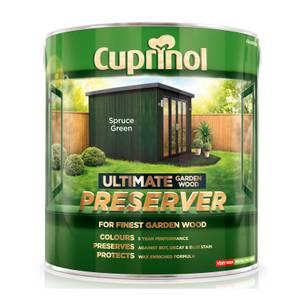 Cuprinol Ultimate Preserver - Spruce Green - 4L