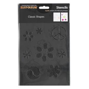 Rust-Oleum Stencil Classic Shapes