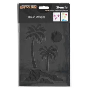 Rust-Oleum Stencil Ocean Designs