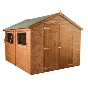 Mercia 10x8ft Premium Tongue & Groove Apex Shed
