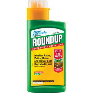 Roundup Total Concentrate Weedkiller - 540ml