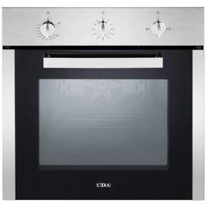 CDA SG120SS Built-in Single Fanned Gas Oven - Stainless Steel