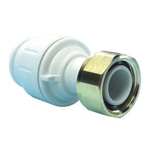 JG Speedfit Straight Tap Connector - 22mm x 3/4in