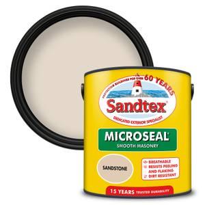 Sandtex Ultra Smooth Masonry Paint - Sandstone - 2.5L