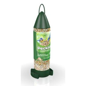 Peckish Complete Ready To Use Bird Seed Feeder