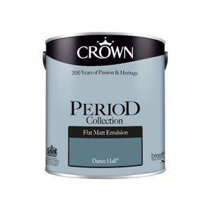 Crown Period Collection Dance Hall Flat Matt Paint - 2.5L