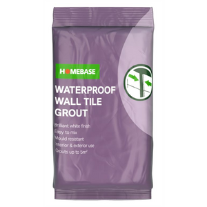 Homebase Powder Wall Grout - 1kg
