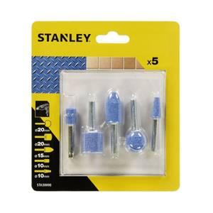 Stanley 5 Pc Mounted Stones Set - STA30000-XJ