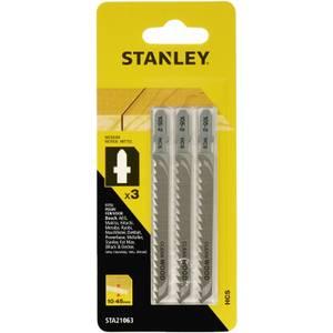 Stanley Jigsaw Blade Wood - STA21063-XJ