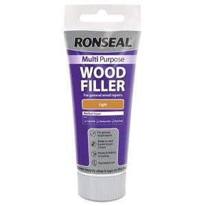 Ronseal Multipurpose Wood Filler Tube - Light - 100g