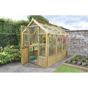 Forest 6 x 4ft Wooden Greenhouse