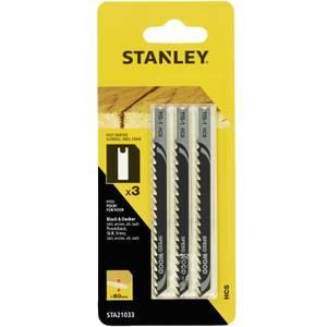 Stanley Jigsaw Blade Wood - STA21033-XJ