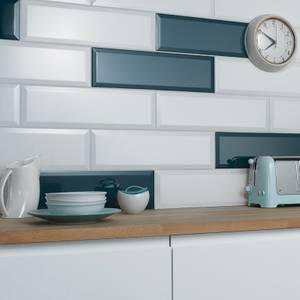 V&A Metro Wall Tile - Sykes Blue