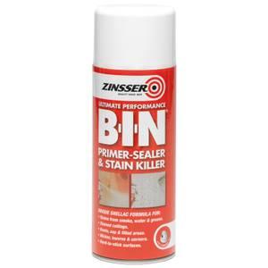 Zinsser BIN Primer Sealer - White - 390ml