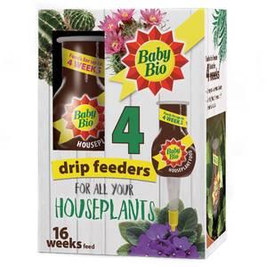 Baby Bio Original Houseplant Drip Feeders (Pack of 4)