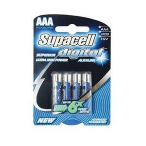 Supacell Digital AAA Batteries - 4 Pack