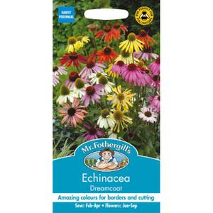 Mr. Fothergill's Echinacea Dreamcoat (Echinacea Purpurea) Seeds