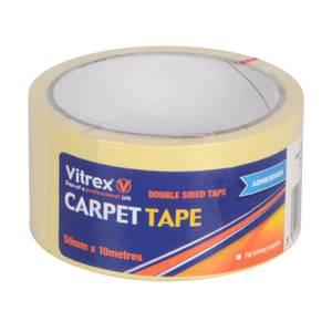 Vitrex Double Sided CARPET TAPE 50mm X10m