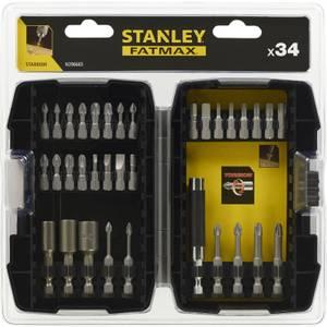 Stanley Fatmax 33Pc Torsion Screwdriver Bit Set  - STA88000-XJ