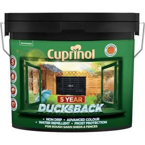 Cuprinol 5 Year Ducksback - Black - 9L