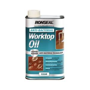 Ronseal Anti-Bacterial Work Top Oil 1L