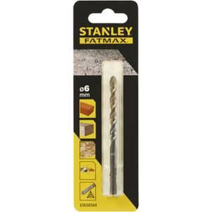 Stanley Fatmax Masonry Drill Bit 6 x 100mm - STA58504-QZ