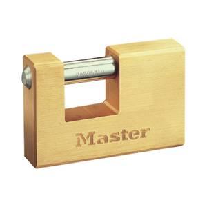Master Lock Rectangle Brass Lock - 63mm