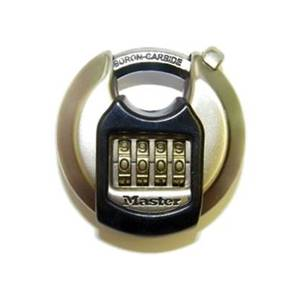 Master Lock Excell Combination Disc Padlock - 70mm